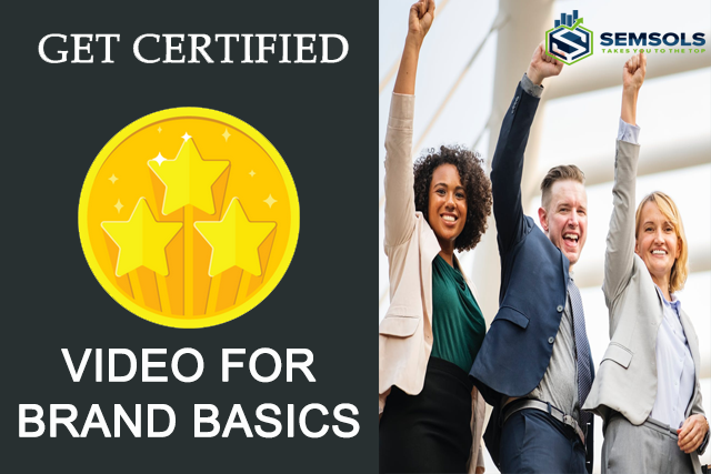 Video For Brand Basics Certification In Patna