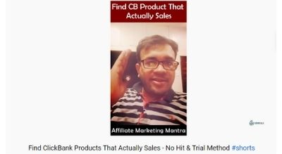 Find ClickBank Products That Actually Sales – No Hit & Trial Method